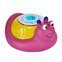 Floating Snail Toy Bath Thermometer by Babylian