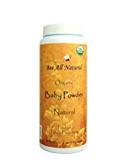 Organic Baby Powder by Bee All Natural