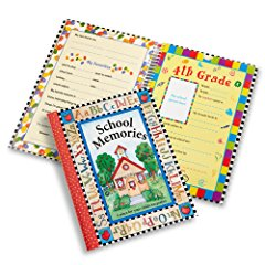 Deluxe School Memories Keepsake Photo Album Scrapbook