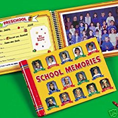 School Memories Album Yellow 10 Pocketfuls Book