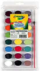24 Ct Washable Watercolors by Crayola