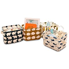 Canvas Storage Bins Basket Organizers