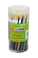 Chenille Kraft Plastic Handle Colossal Round Brushes