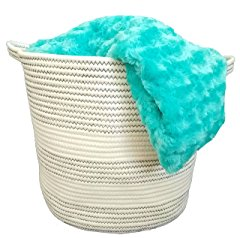 Cotton Rope Basket with Handles
