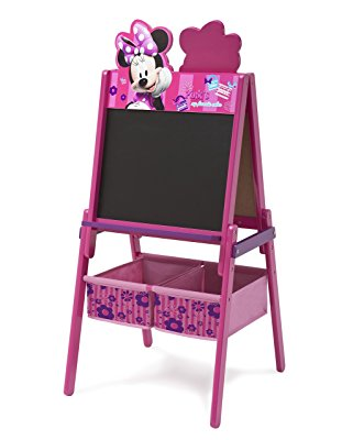 Delta Children Disney Wooden Double Sided Easel