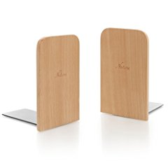 Japanese Style Nature Beech Wood Bookends