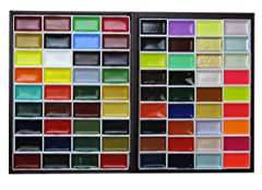 KISSHO GANSAI Japanese Watercolor Paint Colors Set