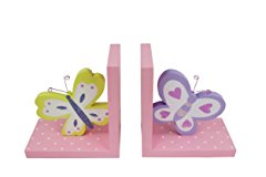 Kids Butterfly Bookend by Hoddmimis