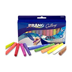 Prang Ambrite Colored Chalk for Paper
