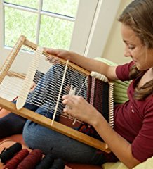 Versatile Portable Large Hardwood Lap Loom