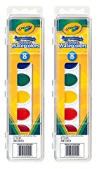 Watercolor Paints Washable Primary Colors by Crayola
