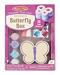 Wooden Butterfly Box Craft Kit by Melissa & Doug