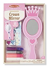 Wooden Crown Mirror Craft Kit by Melissa & Doug