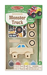 Wooden Monster Truck Craft Kit by Melissa & Doug