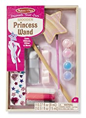 Wooden Princess Wand Craft Kit by Melissa & Doug