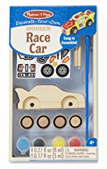 Wooden Race Car Craft Kit by Melissa & Doug