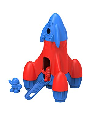 Rocket with 2 Astronauts Vehicle Playset