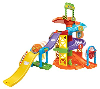 Smart Wheels Spinning Spiral Tower Playset