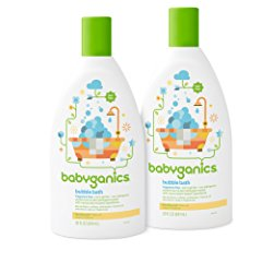 Baby Bubble Bath by Babyganics