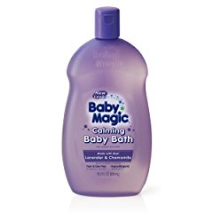 "Calming Baby Bath by ""Baby Magic"" with Lavender and Chamomile"