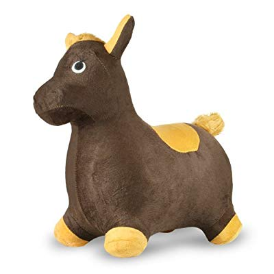 Bouncy Inflatable Real Feel Hopping Horse