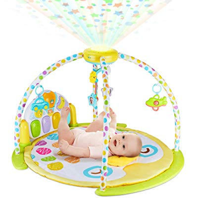 NEW 2019 Baby Gym Kick and Play Piano Activity
