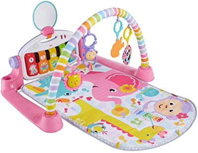 Fisher-Price Deluxe Piano Gym Pink