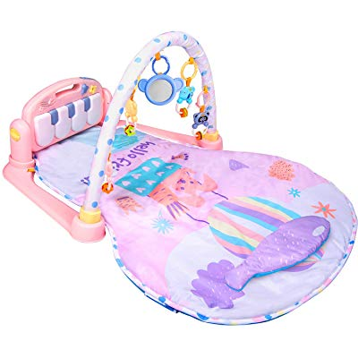 Large Baby Play Mat BATTOP Piano Gym