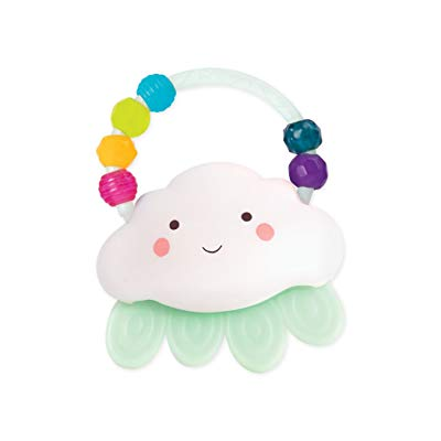 Rain-Glow Squeeze – Light-Up Cloud Rattle for Babies