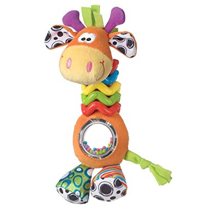 Playgro My First Bead Buddies Giraffe