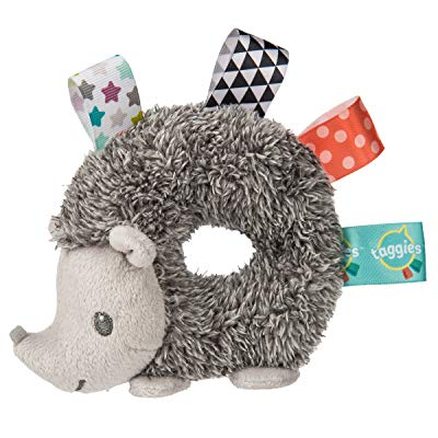 Taggies Heather Hedgehog Baby Rattle