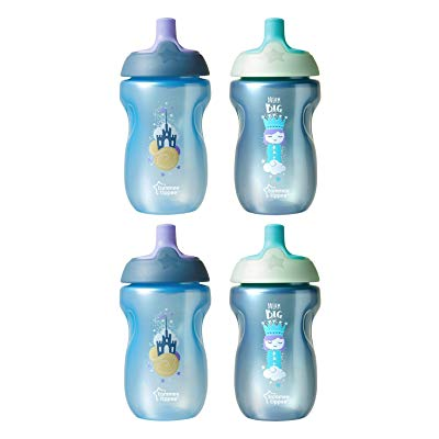 Tommee Tippee Spill-Proof Toddler Sportee Bottle Sippy Cup