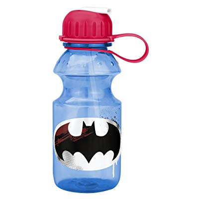 Zak Designs Kids Water Bottle with Straw